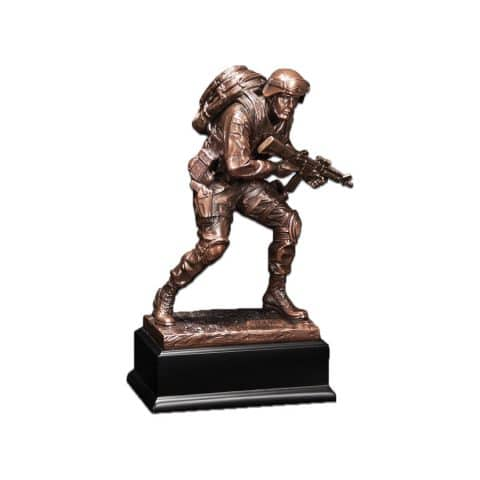 Michigan Cremation Marine Statue
