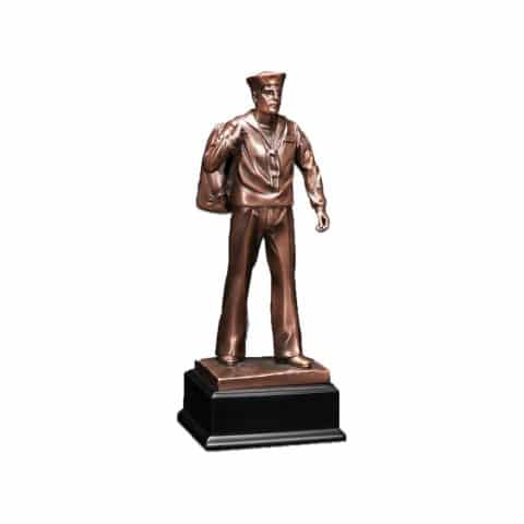 Michigan Cremation Navy Sailor Statue