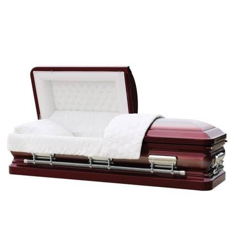Valkyrie funeral casket