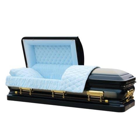 Wolverine funeral casket